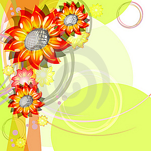 Bright Sunflowers Royalty Free Stock Photo - Image: 20522395