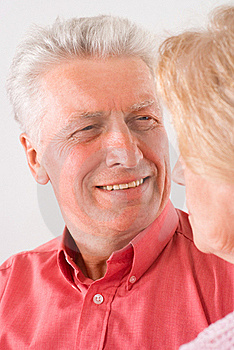 Cute Elderly Couple Stock Photography - Image: 20522892