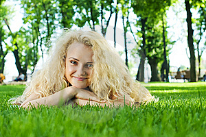 Beautiful Healthy Young Woman Royalty Free Stock Photography - Image: 20522947