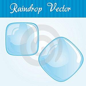 Raindrop Square Royalty Free Stock Image - Image: 20525246