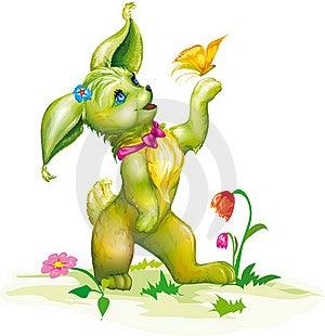 Animal Cartoon Character Royalty Free Stock Image - Image: 20528346