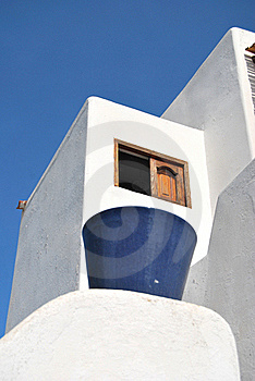 Typical House In Stromboli - Sicily Royalty Free Stock Images - Image: 20529399