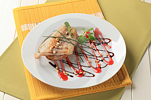 Trout Fillet On Baked Potato Royalty Free Stock Images - Image: 20529689