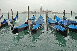 Venice Morning Gondloa Stock Photography - Image: 20530682