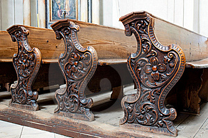 Church Pews Stock Images - Image: 20532124