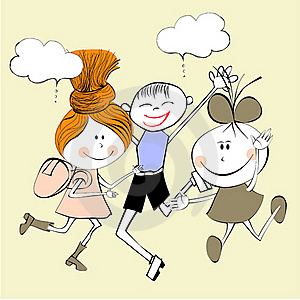 Illustration Of A Children Royalty Free Stock Photo - Image: 20533085