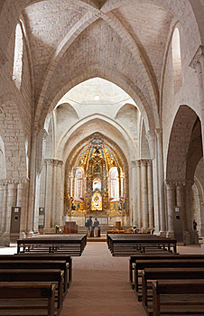 Church Of Valbuena In Valladolid Royalty Free Stock Image - Image: 20533456