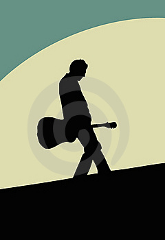 Guitarist Royalty Free Stock Photo - Image: 20536175
