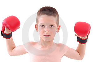 Little Boy Boxer Royalty Free Stock Photography - Image: 20536567