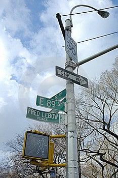 Manhattan Lamppost Stock Photos - Image: 20537173