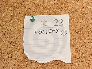 Recordatorio Del Día De Fiesta Fotografía de archivo libre de regalías - Imagen: 20537307