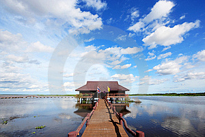 Thale Noi Royalty Free Stock Photos - Image: 20537658