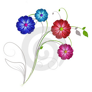 Flowers A Beauty Of Nature. Royalty Free Stock Photography - Image: 20539027