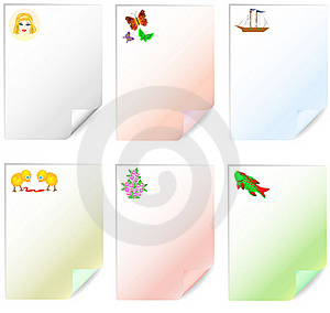 Leaflets For Children's Records Royalty Free Stock Photos - Image: 20539398