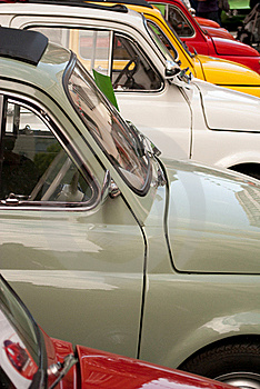 Classic Small Cars Stock Photography - Image: 20539902