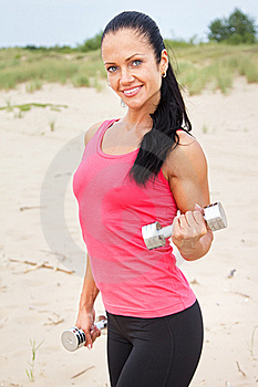Young Female At The Beach Stock Photography - Image: 20540082