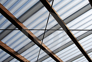 Roof-beam Stock Images - Image: 20541564