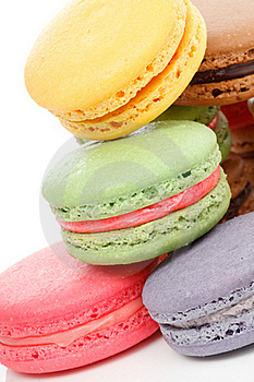 Fresh Baked Macaroons Royalty Free Stock Photo - Image: 20543685