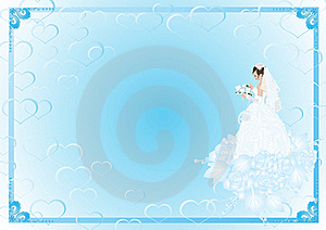 The Bride And The Bridal Bouquet Royalty Free Stock Photos - Image: 20545608