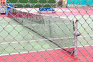 Outdoor Tennis Court Royalty Free Stock Photography - Image: 20549077