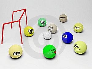 Soccer Royalty Free Stock Photos - Image: 20550148
