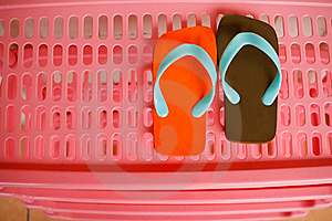 A Pair Of Sandals Stock Images - Image: 20551974