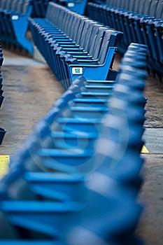 Stadium Seating Royalty Free Stock Photography - Image: 20552397