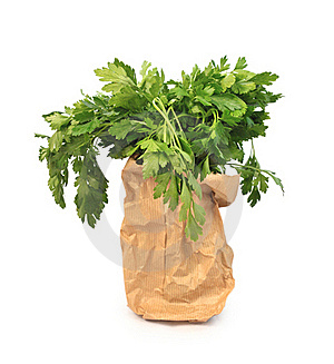 A Bunch Of Parsley Royalty Free Stock Photography - Image: 20553447