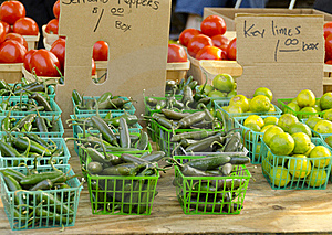 Farmer's Market Royalty Free Stock Photography - Image: 20554737