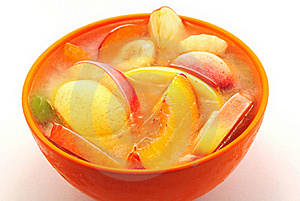 Ice Fruits In Bowl Stock Photos - Image: 20555163