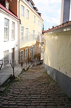 Old Tallinn Street Royalty Free Stock Photos - Image: 20555958