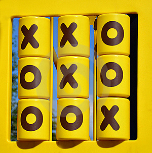 Tic Tac Toe Game Royalty Free Stock Images - Image: 20557289