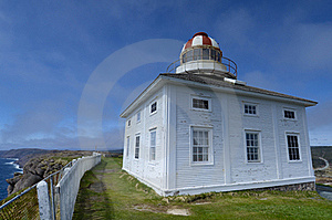 Lighthouse At Cape Speare, Canada Royalty Free Stock Photos - Image: 20559408