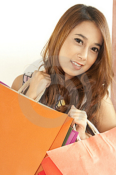Shopping Woman Royalty Free Stock Images - Image: 20561129
