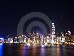 Hong Kong Symphony Of Lights Royalty Free Stock Images - Image: 20563629