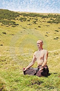 Man Meditating Stock Photos - Image: 20565653