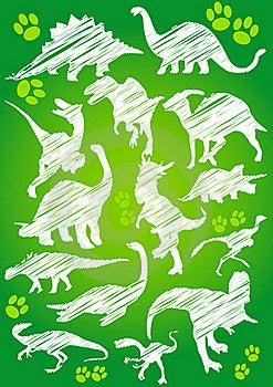 Dinosaurs Royalty Free Stock Photos - Image: 20567998