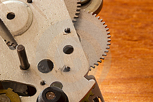 Gear Mechanism Royalty Free Stock Image - Image: 20571926