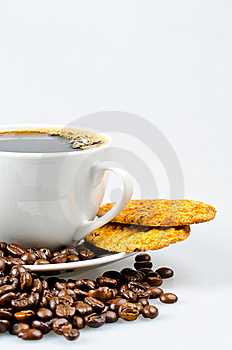 Coffee With Cookies Stock Photography - Image: 20572442