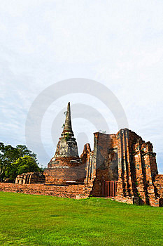 Historic Site Of Thailand Stock Photo - Image: 20574280