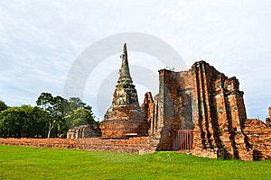Historic Site Of Thailand Royalty Free Stock Photos - Image: 20574288