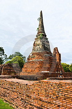 Historic Site Of Thailand Royalty Free Stock Photography - Image: 20574297