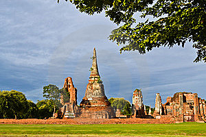 Historic Site Of Thailand Royalty Free Stock Image - Image: 20574386
