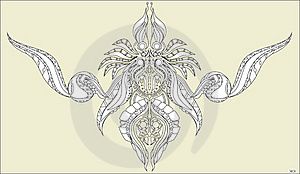 Flower Ornament Royalty Free Stock Photography - Image: 20574417