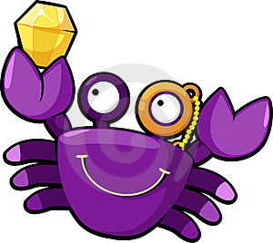 Illustration Crab Vector Royalty Free Stock Photos - Image: 20574638