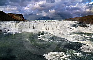Cascade Of Gullfoss Royalty Free Stock Photography - Image: 20574977