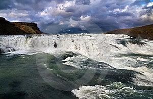 Cascada De Gullfoss Fotografía de archivo libre de regalías - Imagen: 20574977
