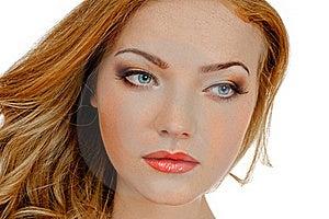 Redheaded Beauty Stock Image - Image: 20575171