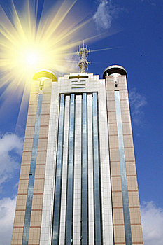 Skyscrapers In Chende City Royalty Free Stock Images - Image: 20576369