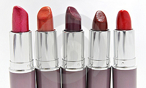 Lipsticks Royalty Free Stock Photos - Image: 20578248